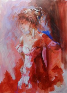 Schilderijen on pinterest morning dew and lady in red - Taupe schilderij ...