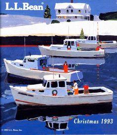 L.L.Bean Christmas 1993 - by Robert Cunningham