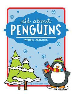 FREE unit about penguins! Love this teacher.