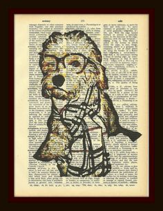 Turn your pet into a piece of art. Personalized pet prints.