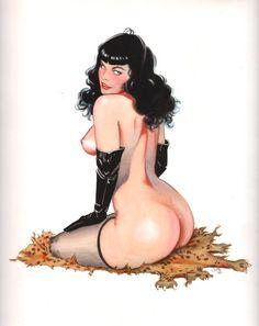 Bettie Page by Jim Silke