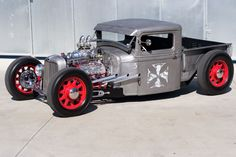 jimmy Shine | 1934 Bare Metal Truck
