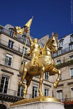 Statue of Jeanne d'Arc (Joan of Arc)