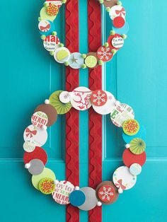 Dress up your door with easy seasonal wreaths that give a creative welcome to every visitor.