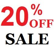20% OFF Early Bird S