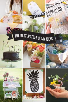 the Best Mother's Day ideas!