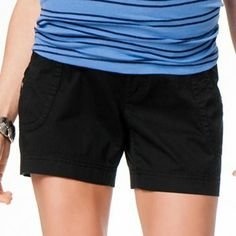 Oh Baby by Motherhood Secret Fit Belly Shorts - Maternity