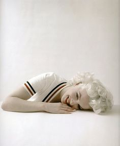 Marilyn Monroe by Milton Greene, 1956