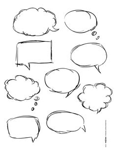Free Download: Free Word Bubbles