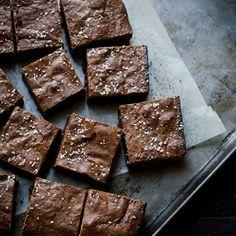 Salted Olive Oil Brownies
