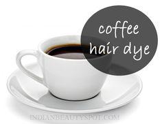 *Natural Coffee Hair shine and Hair Dye