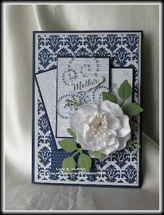 Mothers day card crafts on pinterest mothers day cards for Classy mothers day cards