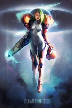 Samus Aran by Jace Wallace