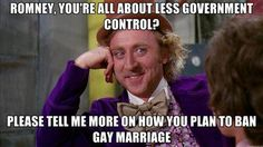 Romney and Less Government Control