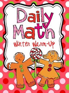 Daily Math Winter Warm Up for first grade