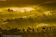 Brume Toscane 3 by Massimo Pelagagge, via Flickr