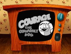 Courage The Cowardly Dog. Still remember how scared I was back in the early days of secondary school watching Courage screaming at his evil opponents haha. 90s kid, cartoon characters, dogs, courag, coward dog, stupid dog, favorit, cartoon network, childhood
