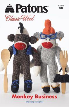 How to crochet a sock monkey | FreshStitches