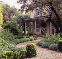 Traditional Landscape French Country Garden Design, Pictures, Remodel, Decor and Ideas - page 25