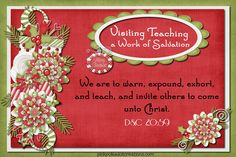 December 2012 Visiting Teaching Handout @ pinkpolkadotcreations.com