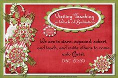 December 2012 Visiting Teaching Handout @ pinkpolkadotcreations.com