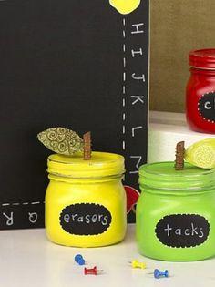 DIY Teacher'€™s Apple Storage Jars |  DIY Storage Solution Tutorial | Get all the craft supplies you need @joannstores