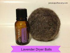 Essential Oil Wool Dryer Balls