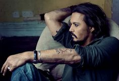 Depp for Vanity Fair, January 2011, by Annie Leibovitz – Queen Mab