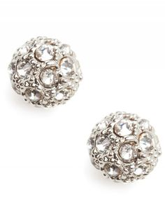 silver pave studs / baublebar