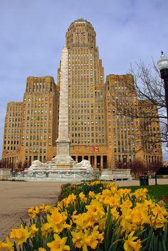 Buffalo City Hall Buffalo, New York  http://www.travelandtransitions.com/our-travel-blog/.