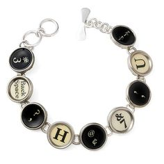 love the old typewriter keys.  I remember those well.........