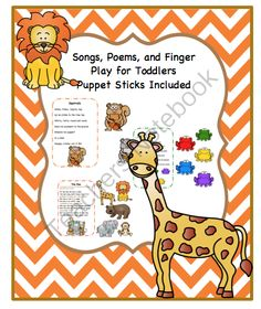 Songs, Poems and Finger Play for Toddlers from Preschool Printables on TeachersNotebook.com -  (11 pages)  - Songs, Poems, and Finger Play for Toddlers