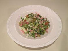 Greek Shaved Cabbage and Fennel Salad