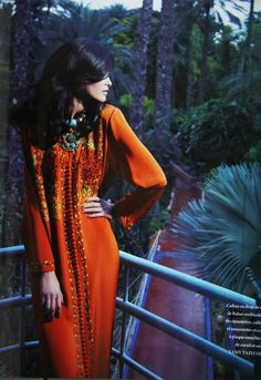 Moroccan fashion, because kaftans I would wear and djilabas I detest. :P