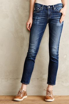 AG Stevie Ankle Jeans - my all time favorite jeans, perfect for the petite gal!
