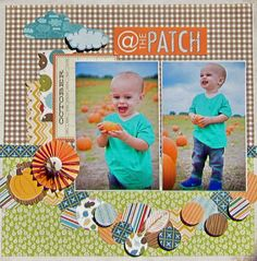 @ The Patch - Scrapbook.com  Papers used on this layout are from Jillibean Soup.