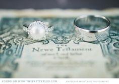 Classic wedding ring | Bright Girl Photography