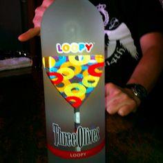 Yep Froot Loop flavored vodka!
