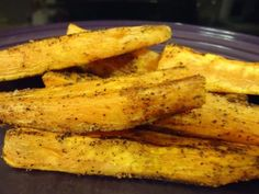 """Spicy Baked Sweet Potato """"fries"""""""