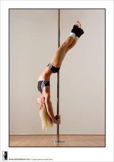 Pole fitness.