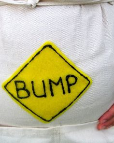 For the baby bump... Too funny!