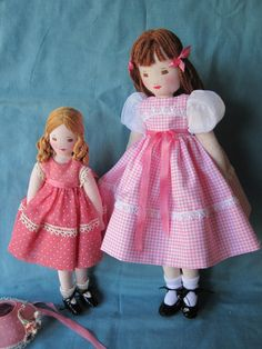 Edith Flack Ackley Pattern Doll