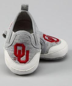 Gray University of Oklahoma Booties