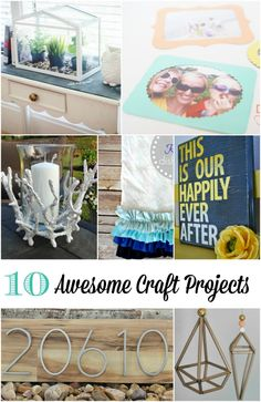 10 awesome craft projects to try this week!