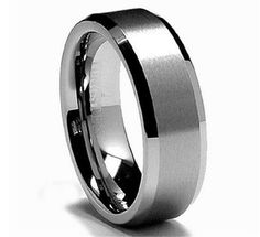 King Will Tungsten Carbide Matte Poli... for only $9.99