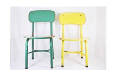 vintage kids chairs