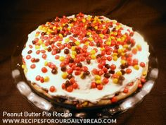 Peanut Butter Pie Recipe