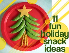 11 fun christmas snacks! I really need to start making fun food for my sons!