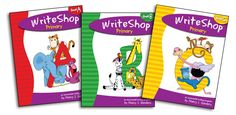 "A homeschool dad reviews WriteShop Primary: ""WriteShop is a complete writing program that actually begins with younger students - as young as kindergarten... It's flexible, it's easy to use ... an innovative approach!"""