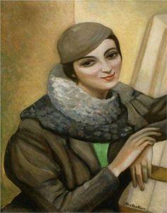 Portrait of Nina Shik (1937) - Serge Sudeikin
